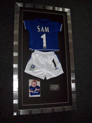 but just 5 years ago if you wanted to get your shirt professionally framed you would have been led to believe that pro shirt framing would be circa 200